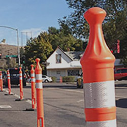 Traffic Delineators for Crowd Control and Traffic Management