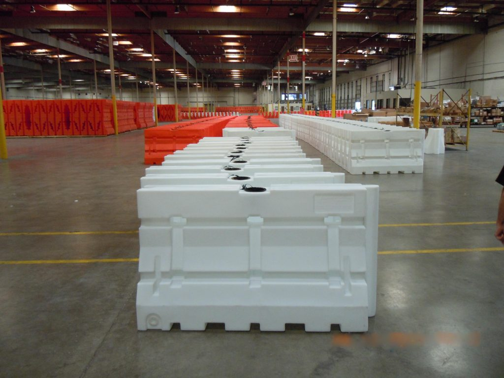Armorcast Guardian Safety Barriers Warehouse with Extensive Inventory
