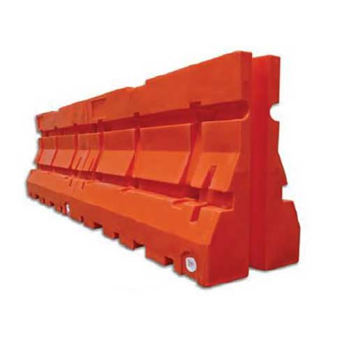 Armorcast Guardian 100 Plastic Jersey Barriers for Highway Safety and Traffic Control