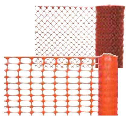 Plastic Snow Fence or Plastic Fencing for Construction Sites and Work Zones
