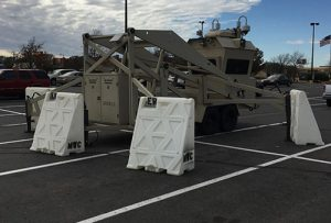 Plastic Rapid Deployment Barricades from OTW Safety are Ideal for Military Applications