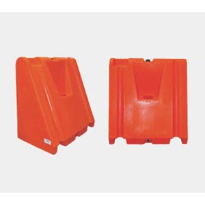 RRM Square Plastic Jersey Barricade