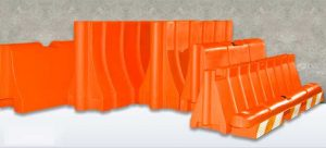 Rochester Rotational Molding Barriers are the premier choice in plastic jersey barricade products