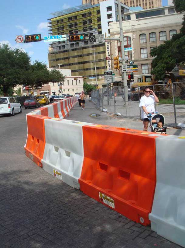 Yodock Barriers are Used in a Wide Variety of Industries Including Construction and Crowd Control