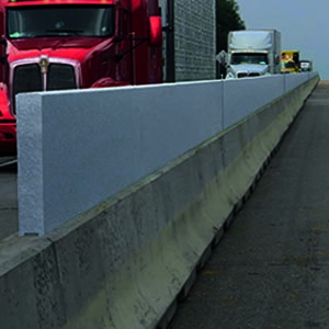 Yodock TrafficShield Anti-Glare Gawk Screen System for Highway Barricades