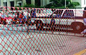 Plastic Fencing for Construction Sites and Work Zones