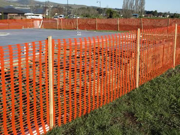 Plastic Fencing For Construction And Work Zone Safety