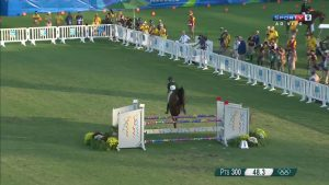 LineEx Barricades Lining an Equestrian Event at the 2016 Rio Olympics